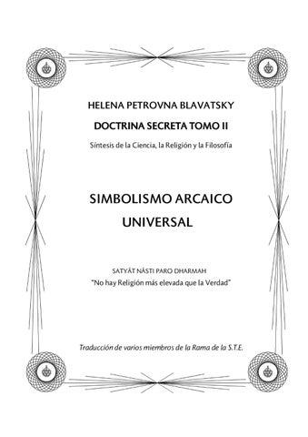 la doctrina secreta - tomo iigroup24 - issuu