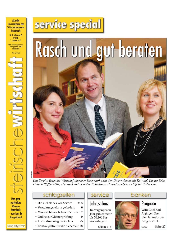 Steirische Wirtschaft Ausgabe 1 By Wirtschaftskammer Steiermark Issuu