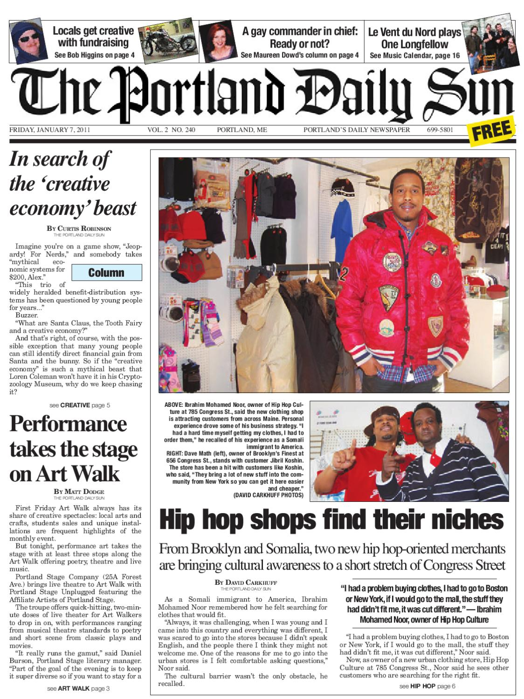 The Portland Daily Sun Friday January 7 2011 By Daily Sun
