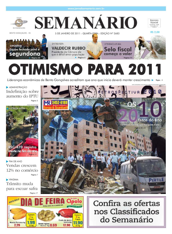 10e83a52e Jornal Semanário - 05/01/2011 by jornal semanario - issuu