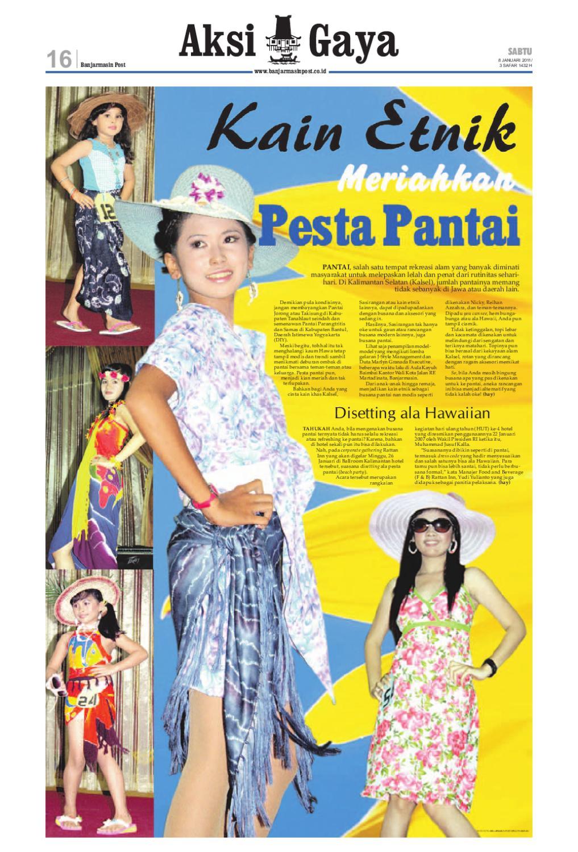 Banjarmasin Post Edisi Sabtu 8 Januari 2011 By Issuu Kain Kalsel