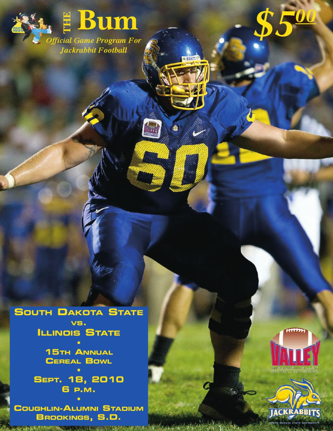south dakota state football program 9 18 2010 by south dakota