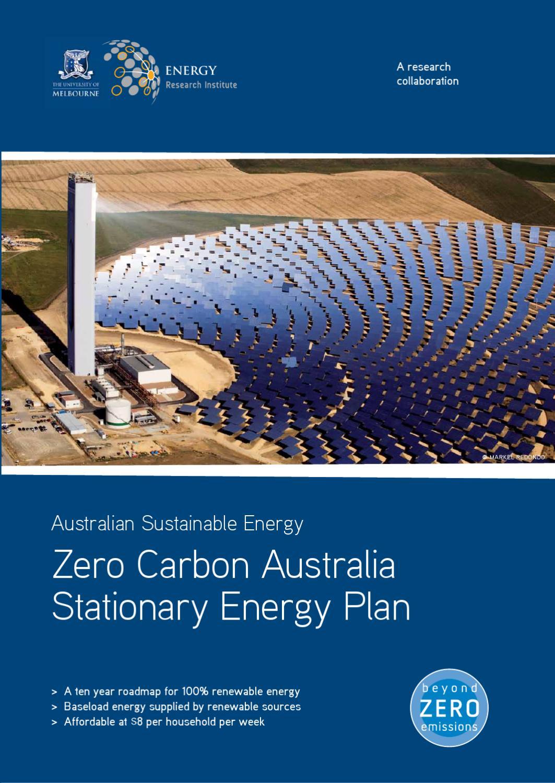 Zero Carbon Australia Stationary Energy Plan By David Robinson Issuu Magnetic Motor Starter Wiring Diagram Http Wwwdocstoccom Docs