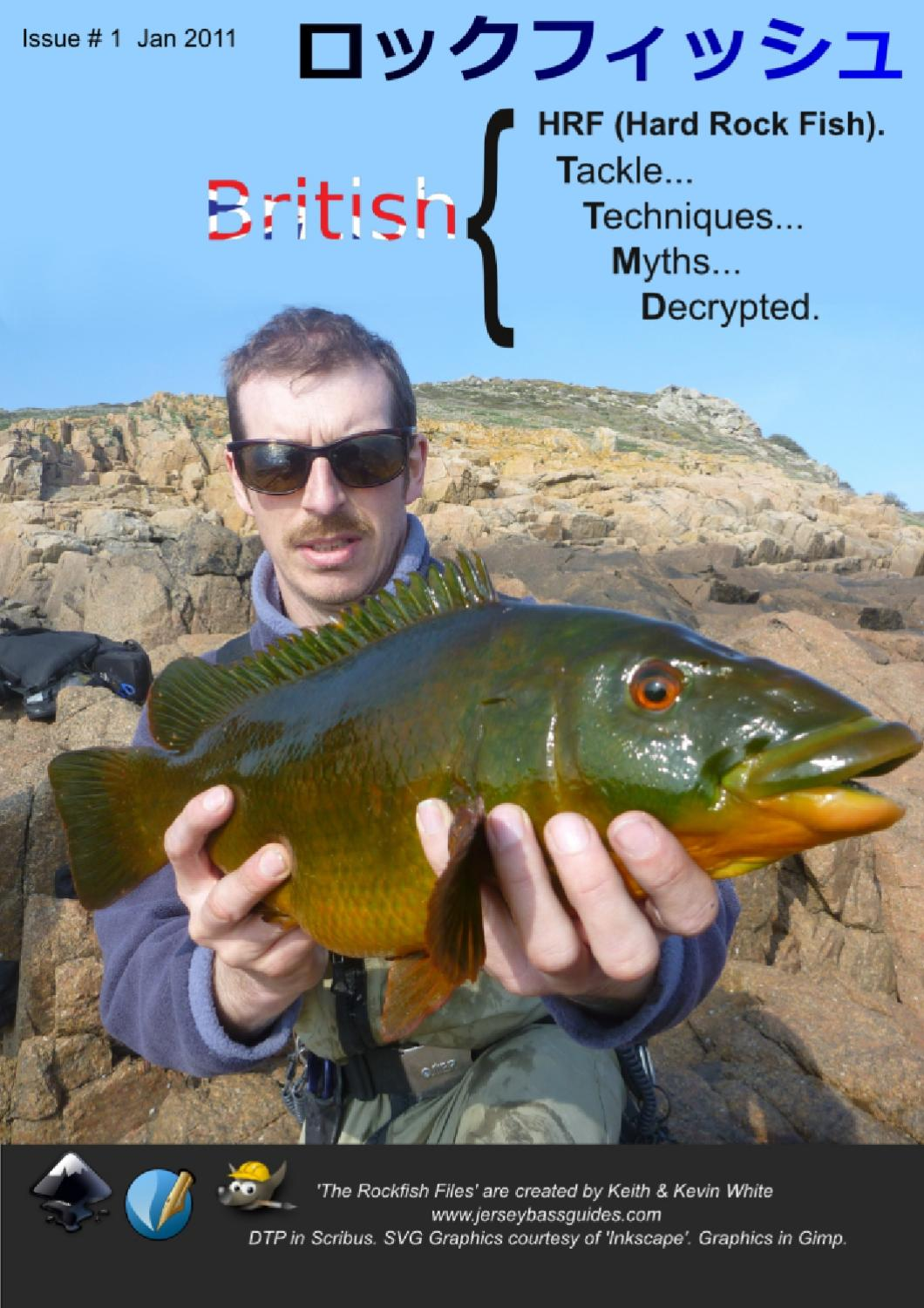 British hrf hard rock fishing for wrasse with soft lures for Hard and soft fishing