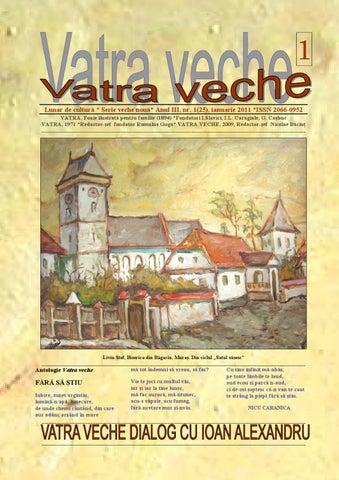vânzare la cald online îmbrăcăminte sport de performanță moda designerului Revista Vatra Veche by cosmuta dorin - issuu