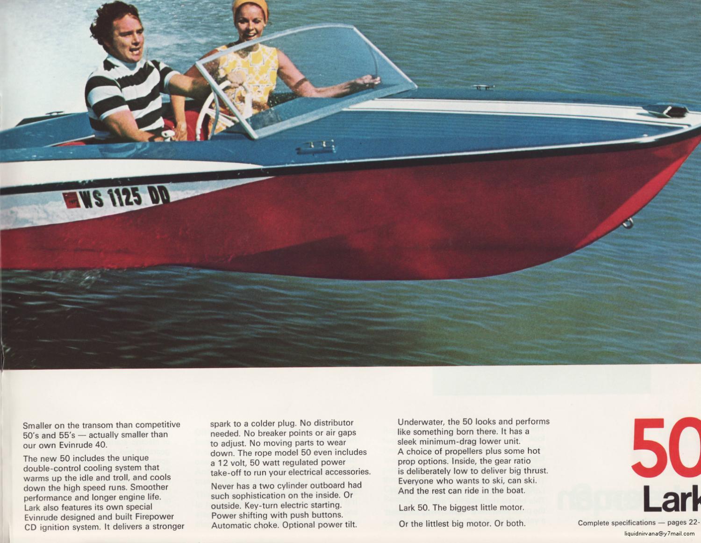 1972 - EVINRUDE Outboard Outboard Sales Brochure by Liquid Nirvana