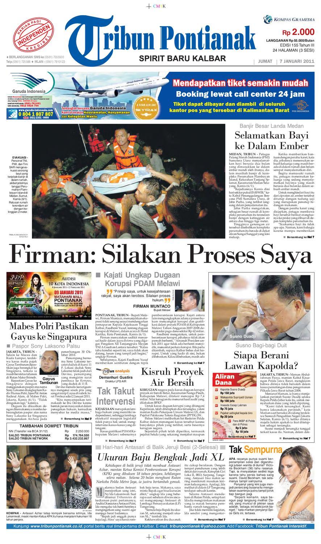 Epaper Tribun Pontianak Jumat 7 Januari 2011 By Tribun Pontianak Issuu