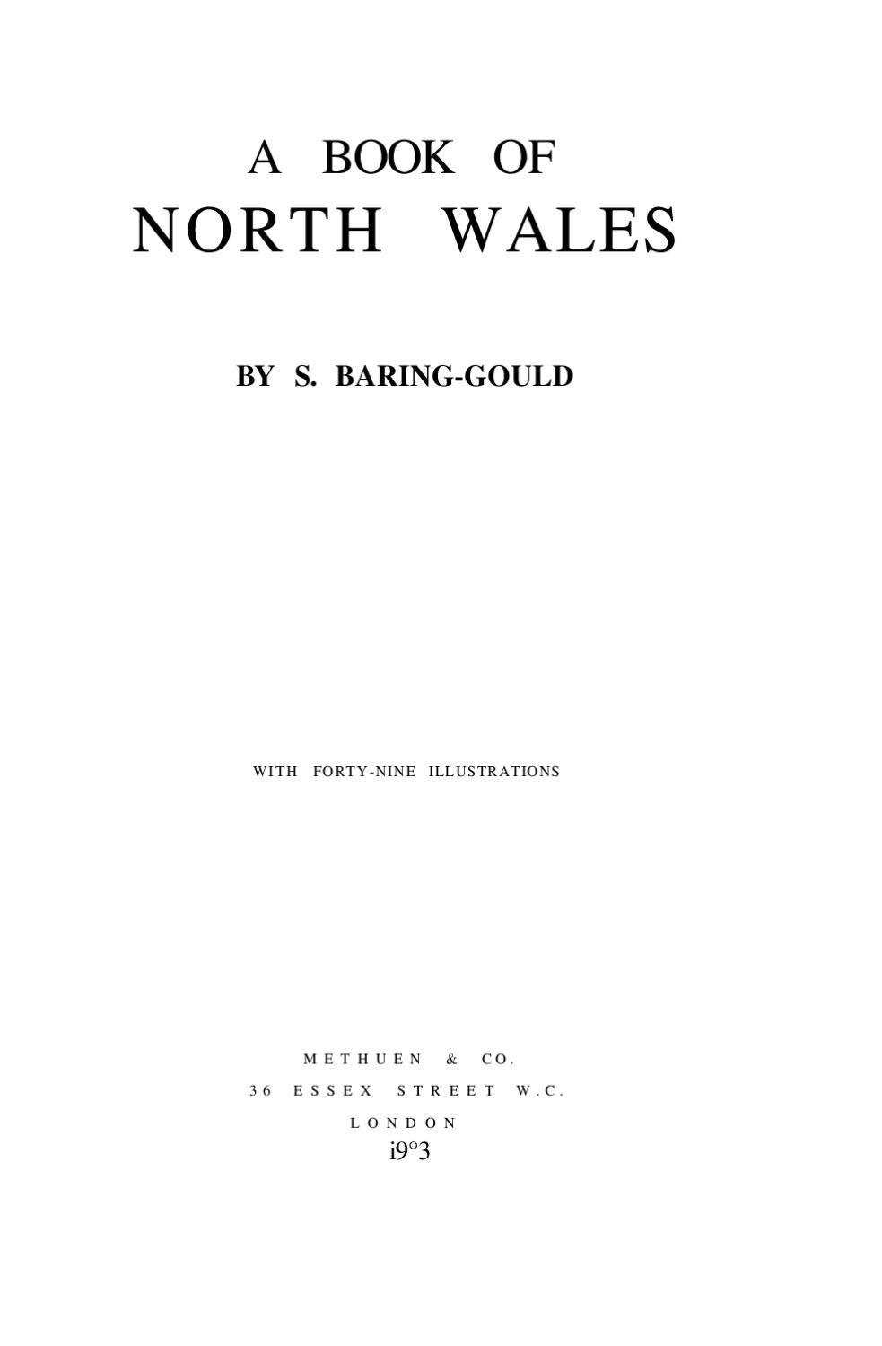 A Book of North Wales by Sylvia Thornley - issuu