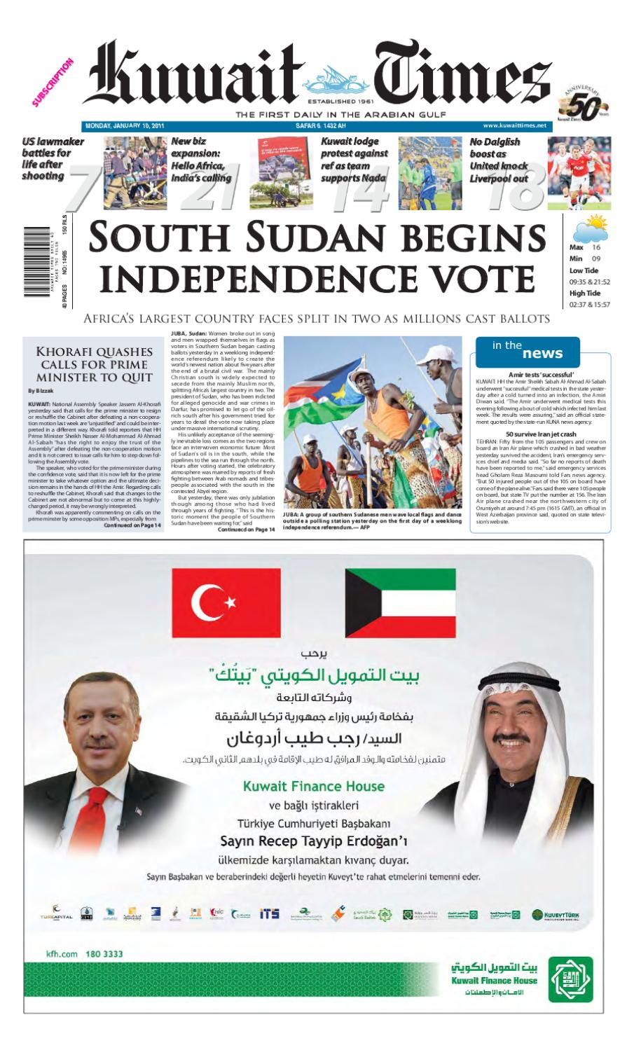 8923d219afd1 10 Dec by Kuwait Times - issuu