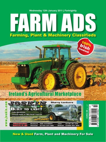 Used Tractors For Sale >> Farm Ads by IDS Media Group Ltd - Issuu