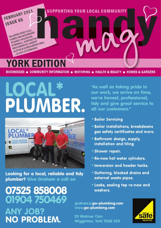 Handy Mag York Feb11 by Moonriver Publishing Ltd - issuu