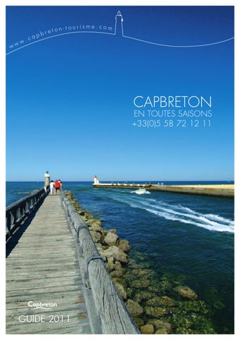 Tourisme capbreton by gmt editions issuu - Office de tourisme cap breton ...