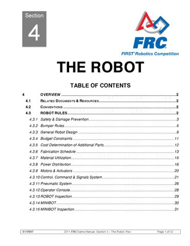 The Robot by VISION MIKE - issuu