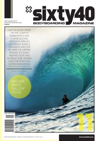 Sixty40 Bodyboarding Magazine  11 - The Inspired Issue by Sixty40 ... 8f732db00672f