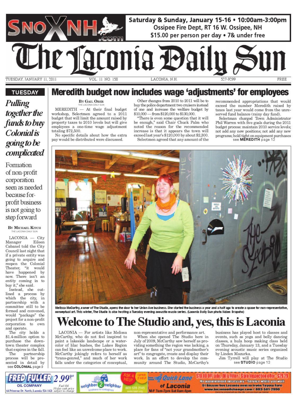 The Laconia Daily Sun January 11 2011 By Issuu Speaker Diablo Vx 603 Dw