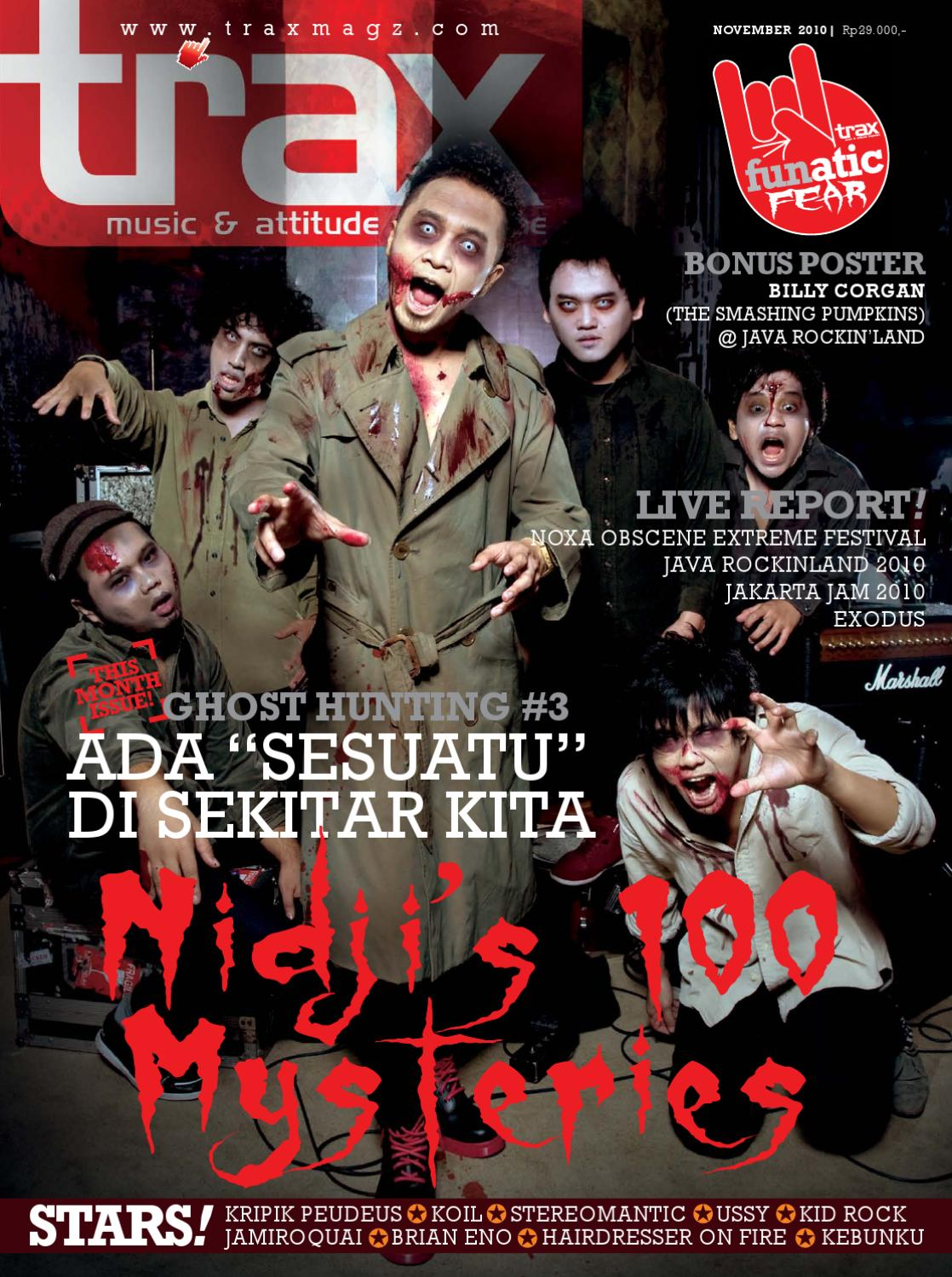 Trax Magazine November 2010 By Issuu Stiker Acil Versi Wanita