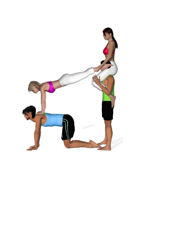 Ginastica acrobatica Figuras com 4 alunos by Nucleo ...