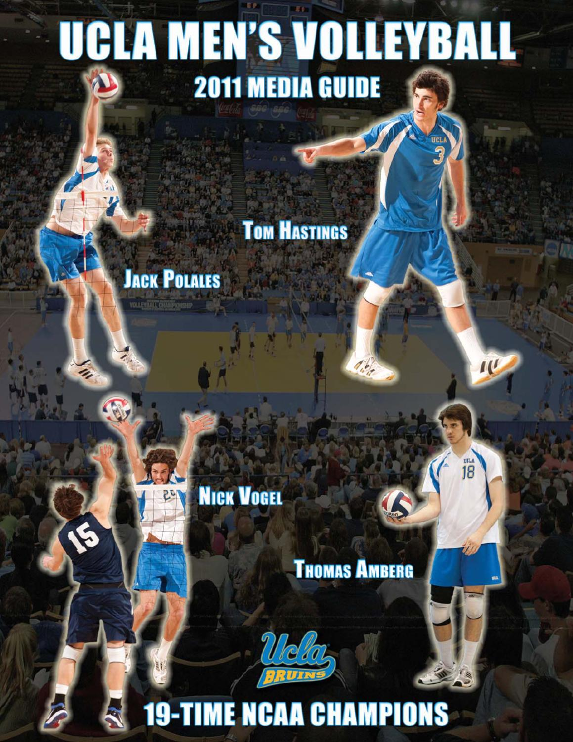 2011 UCLA Men s Volleyball Media Guide by UCLA Athletics - issuu 70d211363