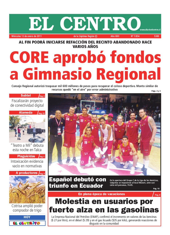 diario 12-01-2011 by Diario El Centro S.A - issuu 3b73b75c949c