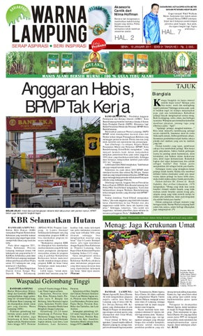 Harian Pagi Warna Lampung Testing Edition By Hero Dirga Issuu