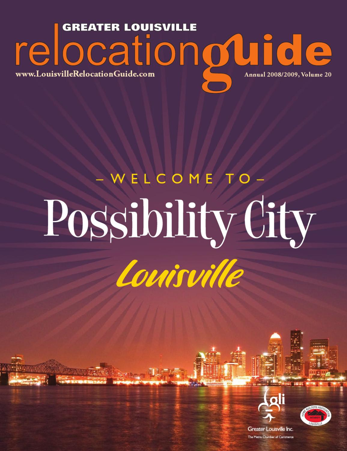 2008/2009 Greater Louisville Relocation Guide by Building