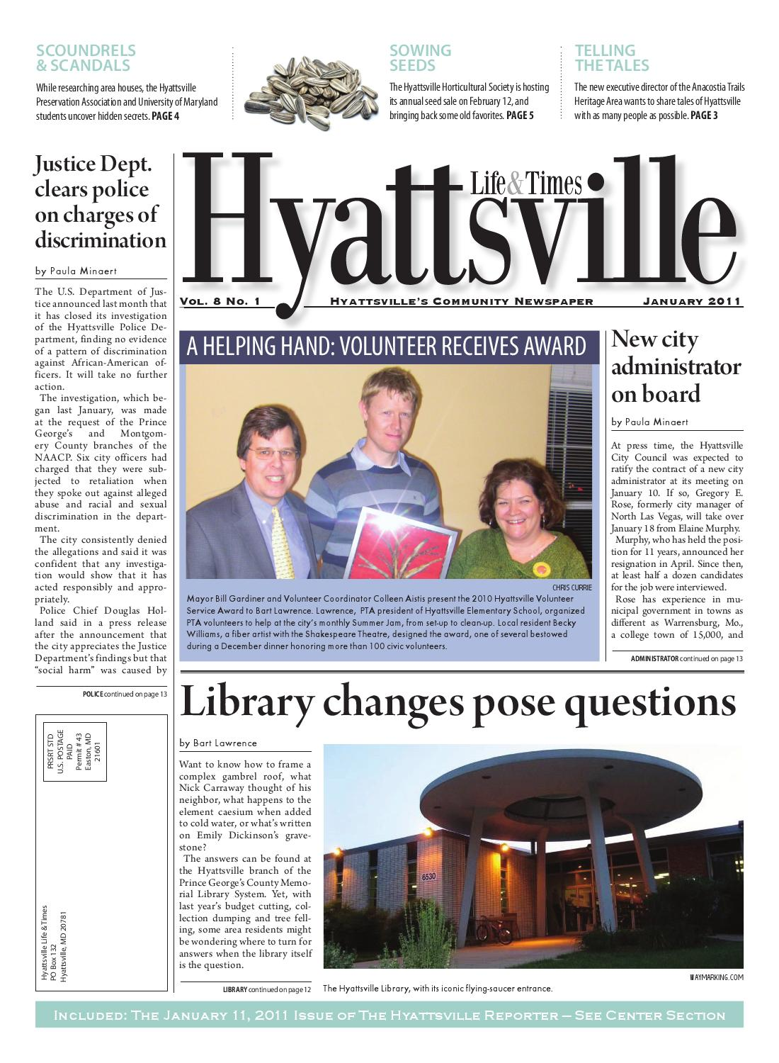 January 2011 Hyattsville Life & Times by Hyattsville Life and Times