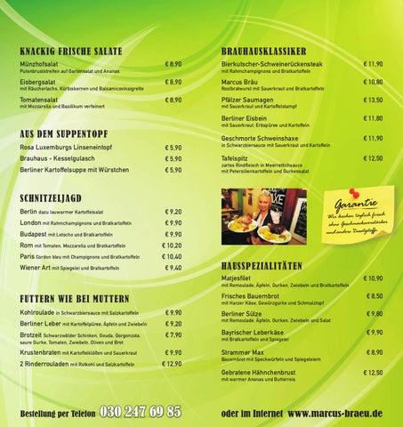 speisekarte lieferservice deutsche küche berlin by lieferservice ... - Deutsche Küche In Berlin