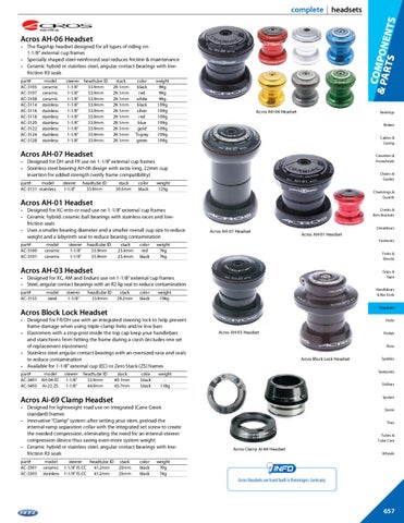 1-1//8-Inch Stem Clamp Diameter Cane Creek 110-Series External Cup Complete for 34mm Head-Tube