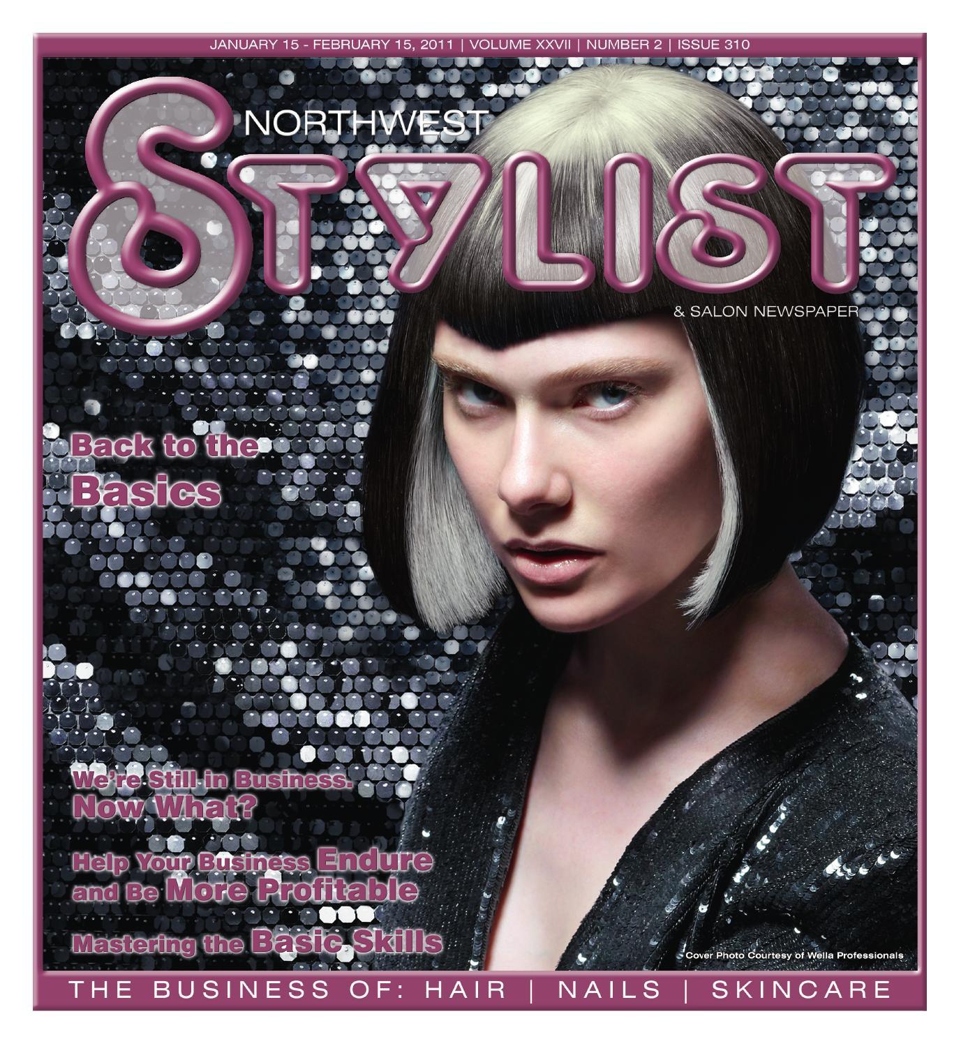 Northwest Stylist January 2010 Back To Basics By Stylist