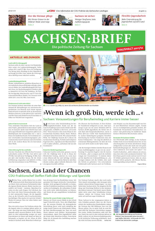 Cdusachsenbrief by chris bergau issuu for Landeserziehungsgeld hohe