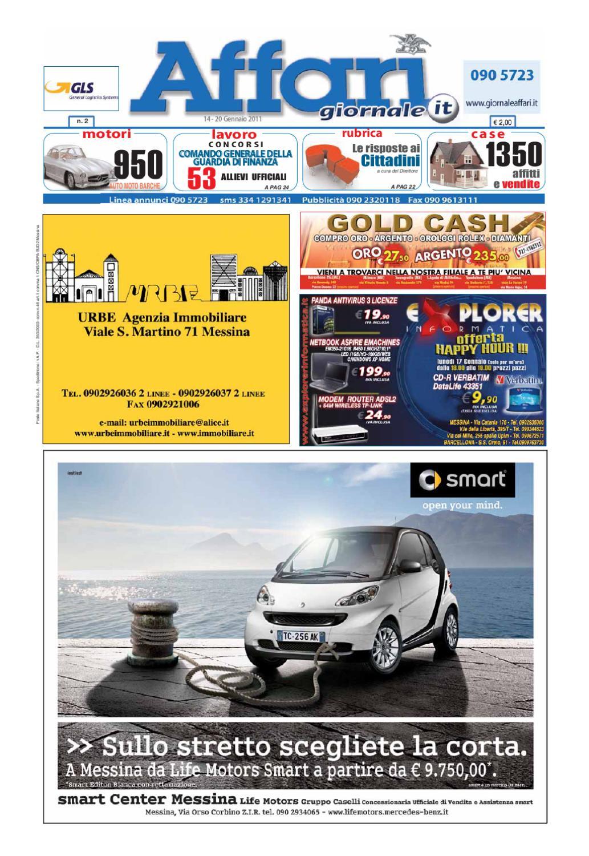 save off 277bf 25635 Giornale Affari 14 Gennaio 2011 by Editoriale Affari Srl - issuu