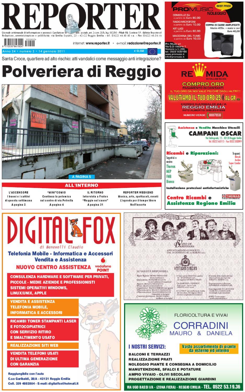 Reporter Giornale 14 Gennaio 2011 by Reporter - issuu 4a29f0a70f0e