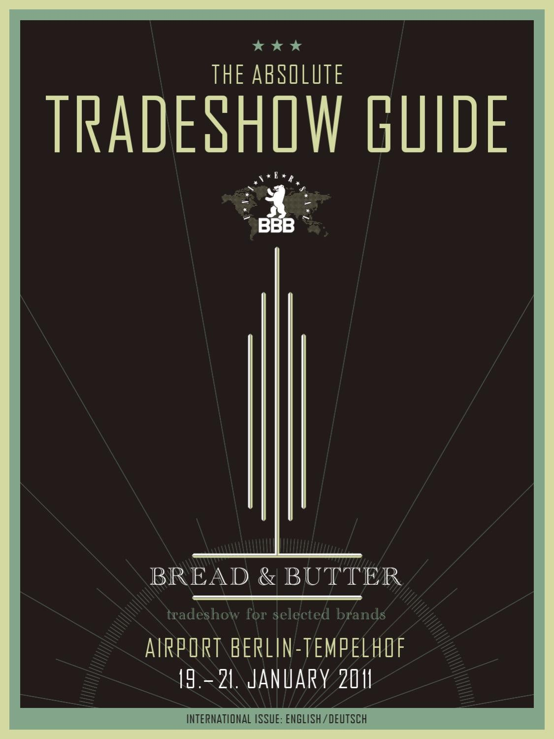 Tradeshow Guide Absolute By BREAD U0026 Butter GmbH U0026 Co. KG   Issuu