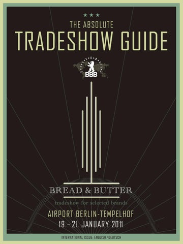 Tradeshow Guide Absolute by BREAD   butter GmbH   Co. KG - issuu 69a8694a88