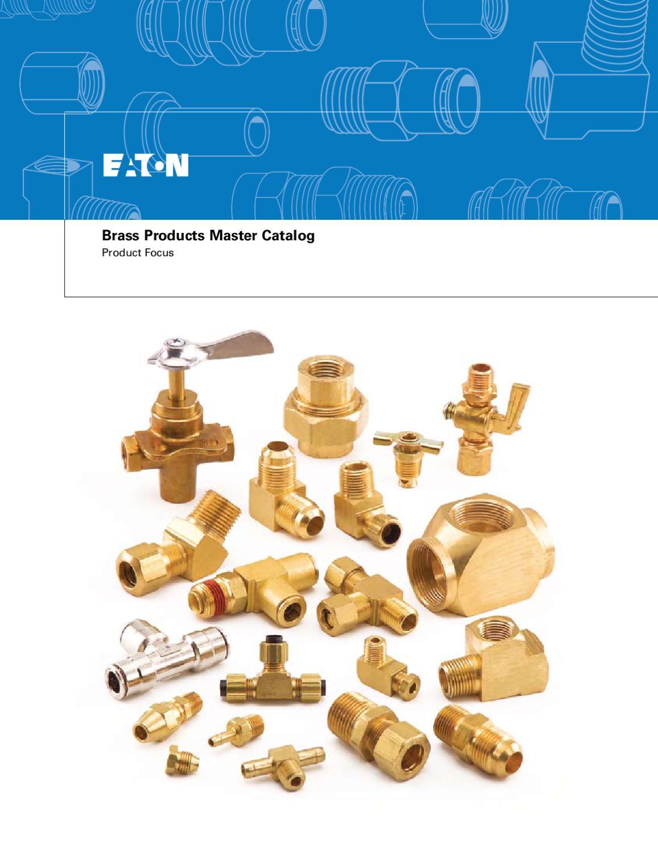 Eaton Weatherhead 44X8 Brass CA360 SAE 45 Degree Flare Union Tee 1//2 SAE Male