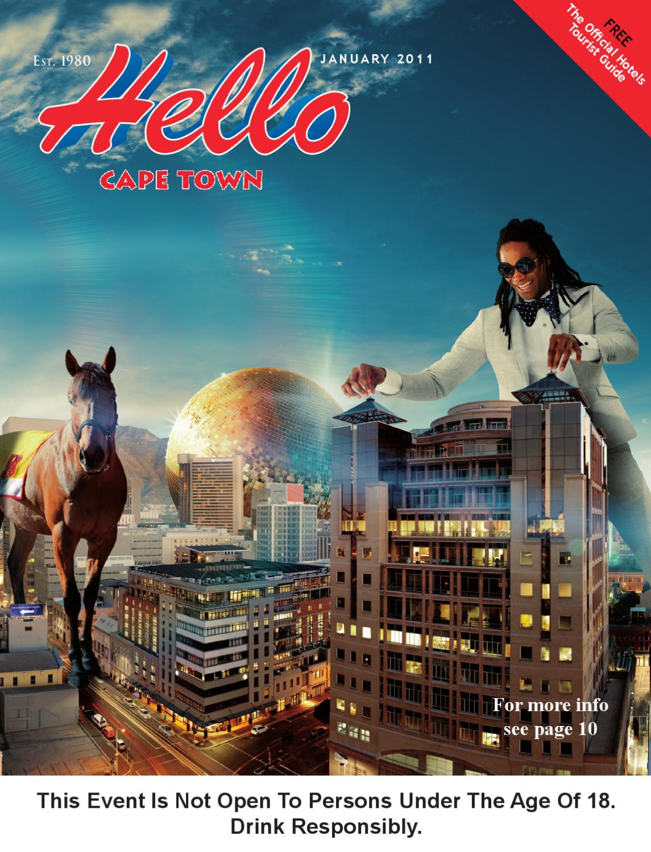 Hello Cape Town Magazine January 2011 By Hello Cape Town