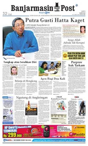 Banjarmasin Post Edisi Sabtu 15 Januari 2011 by Banjarmasin Post - issuu 4f15a30648