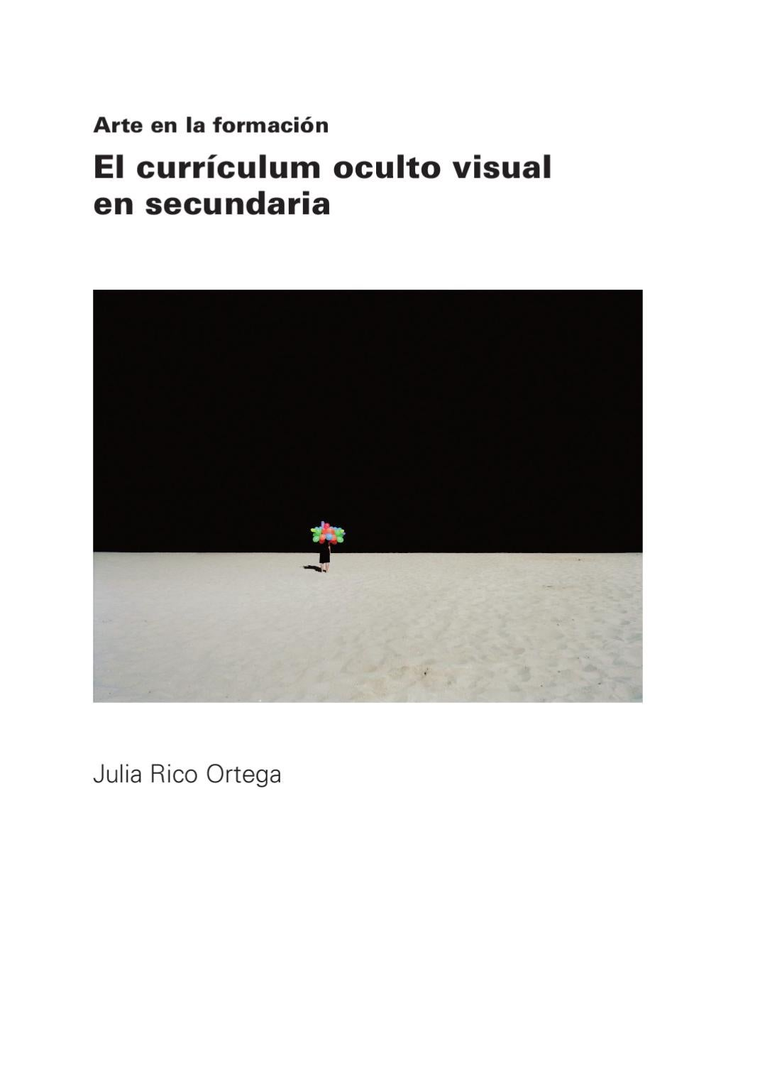 El curriculum oculto visual en secundaria by Julia Rico Ortega - issuu