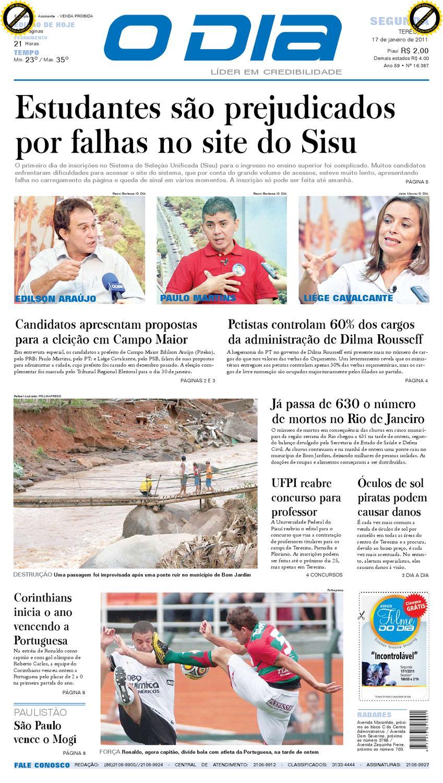 06482e7473e07 Jornal O DIA by Jornal O Dia - issuu