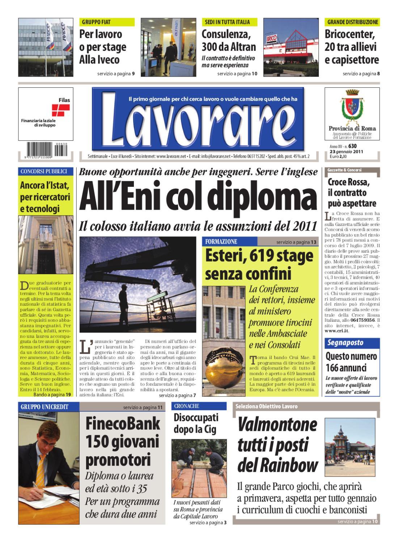 c1c4b6d0373f Lavorare 630 | 23 Gennaio 2011 by Media Futuro società cooperativa - issuu