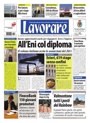 4fabc7e4e942 Lavorare 630 | 23 Gennaio 2011 by Media Futuro società cooperativa ...