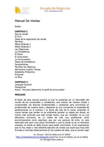 dfeddbd5fa9d1 Manual de VENTAS by Antonio Reyes - issuu