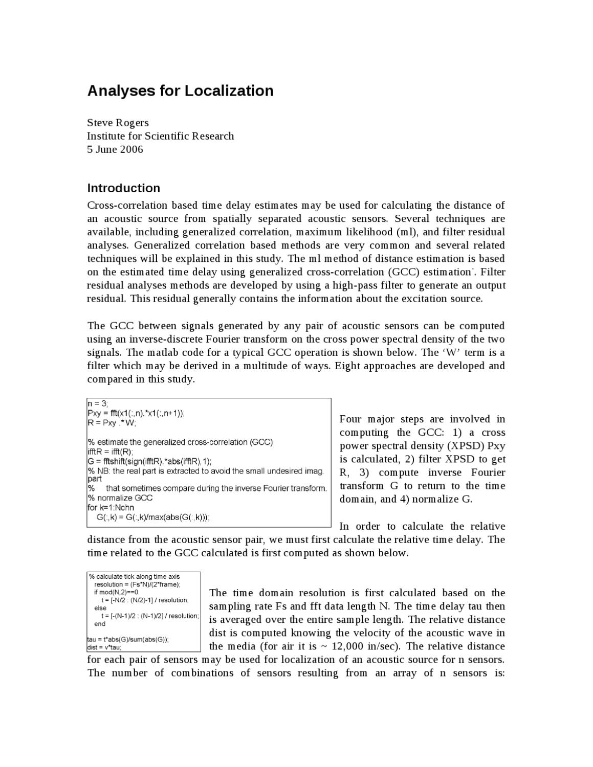 Analyses for Localization scr by Steve Rogers - issuu