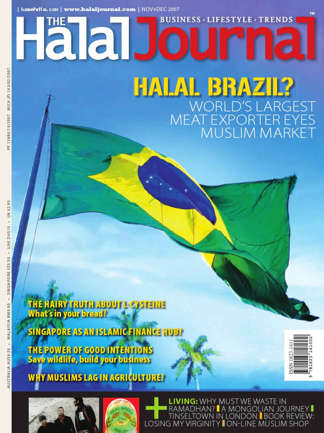 The Halal Journal - Nov/Dec 2007 by The Halal Journal - issuu