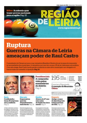 a074c6163551f Região de Leiria 14 Janeiro 2011 by Região de Leiria Jornal - issuu