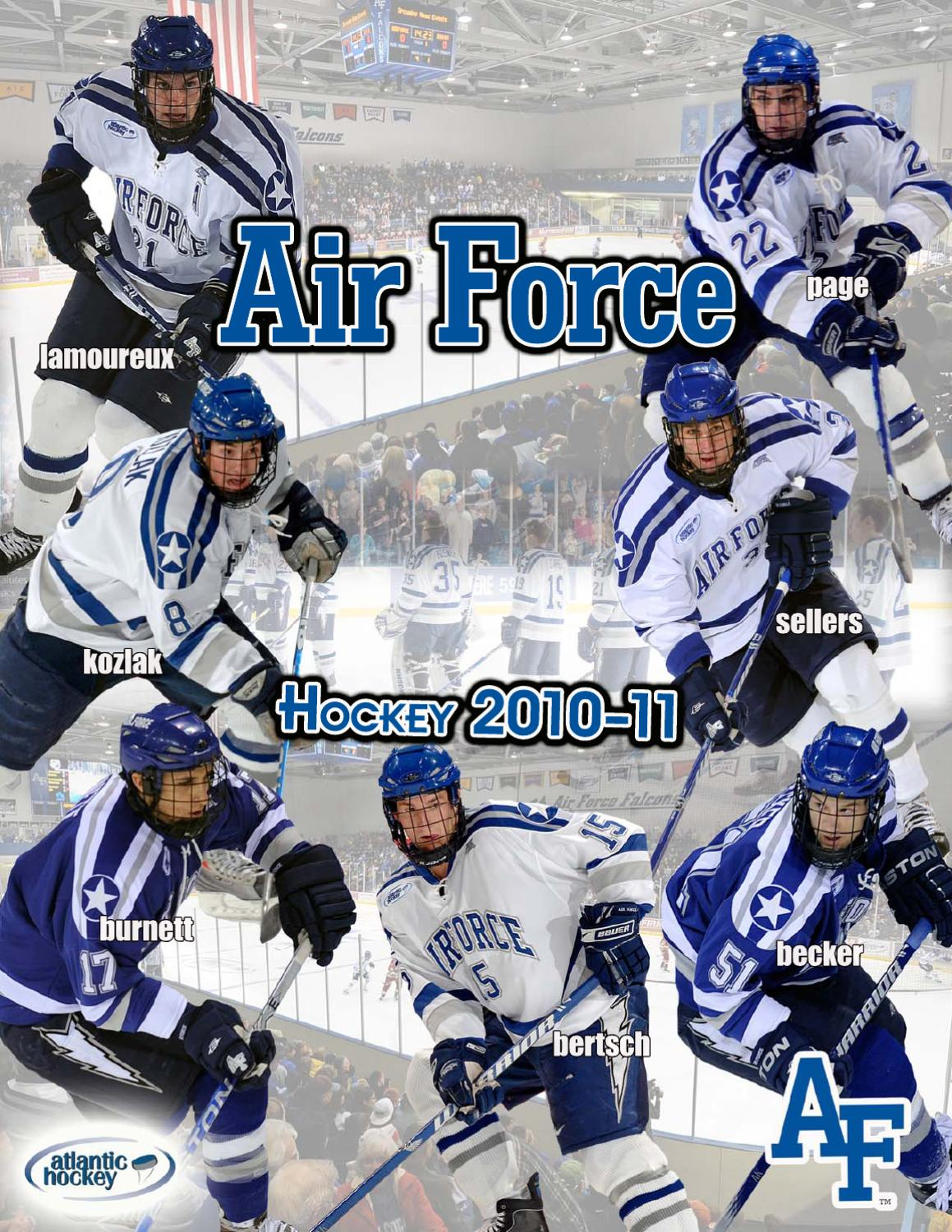24a501ca4a4 Air Force hockey media guide 2010-11 by Dave Toller - issuu