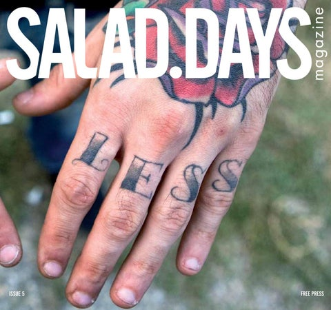 Salad Days Magazine - issue 5 by Salad Days Magazine - issuu 18b2183366e