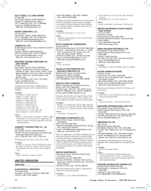 IDR Directory Test by Waterways Journal - issuu
