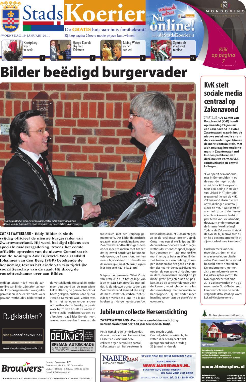 Stadskoerier Week 3 By Brugmedia B V Issuu