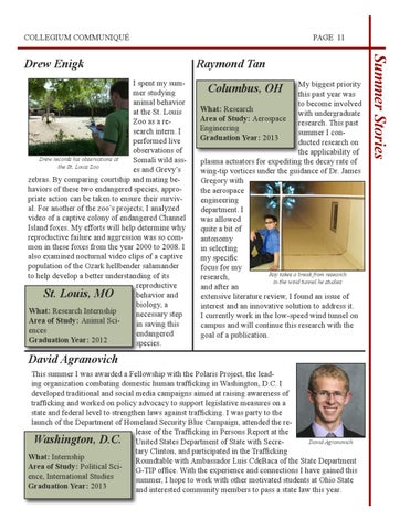 Honors Collegium Newsletter - Fall 2010 by Honors & Scholars